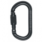 Petzl OK Screw-Lock fekete karabiner