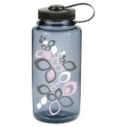 Nalgene Everyday nagynyílású 1l-es italtartó palack (bloom pink/gray/black)