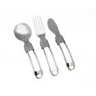 Rockland Folding cutlery set evőeszköz