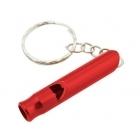 Rockland Whistle key ring jelző síp (piros)
