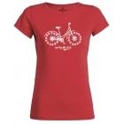 Cycling People Cycling Chick női rövid ujjú organikus pamut póló
