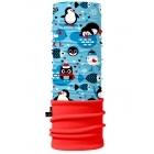 4 Fun Polartec többfunkciós gyermek csősál (Winter Penguin)
