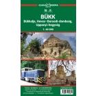 Bükk, Heves-Borsodi-dombság, Upponyi-hegység túristatérkép - Szarvas kiadó
