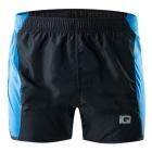 IQ Mawo férfi futó rövidnadrág (Black/Diva blue)