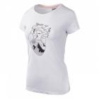 Elbrus Corazon női rövid ujjú póló (White/micro chip)