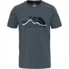 The North Face Mount Line Tee férfi póló (Heather grey)