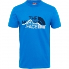 The North Face Mount Line Tee férfi póló (Bomber Blue)