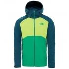The North Face Stratos férfi esőkabát (Primary Green/Lime Green/Kodk )