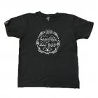 BAP Camping gyerek póló (fekete)