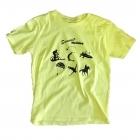 BAP Summer Holiday gyerek póló (sárga)