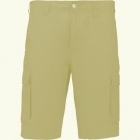 Kariban Lightweight multipocket bermuda (Beige)