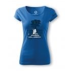 Sandstone női póló (azure blue)