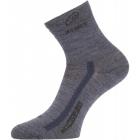 Lasting WKS gyapjú zokni (Szürke, Kék)