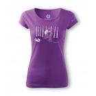 Sandstone női póló (purple)