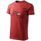 Sandstone férfi pamut póló (burgundy)