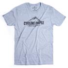 Cycling People King of the mountains férfi póló (Szürke)
