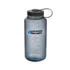 Nalgene Everyday nagynyílású 1l-es italtartó palack (Gray, Everyday, Black Loop-Top)