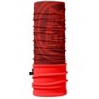 4 Fun Polartec többfunkciós csősál (Piros, Mintás)