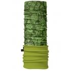 4 Fun Polartec többfunkciós csősál (Zöld, Mintás)