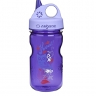 Nalgene Everyday Grip-n-Gulp gyerek italtartó palack (purple/hoot)