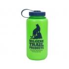 Nalgene Bootle HDPE 1 L széles nyílású műanyag palack (green cat logo)