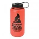 Nalgene Bootle HDPE 1 L széles nyílású műanyag palack (red cat logo)
