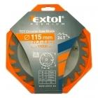 Extol Premium 8803202 115×22,2mm-es keményfémlapkás körfűrészlap