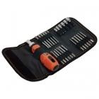 Extol Premium 8819102 racsnis csavarhúzó és dugókulcs készlet