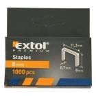 Extol Premium 8852502 8mm-es tűzőgépkapocs 1000db-os