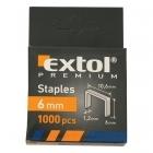 Extol Premium 8852201 6mm-es tűzőgépkapocs 1000db-os