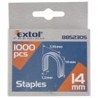 Extol Premium 8852305 14mm-es U-szeg tűzőgéphez 1000db-os
