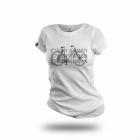 Cycling People Green Queen női pamut póló