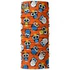 4 Fun Standard Kid többfunkciós gyermek csősál (Owl Orange)