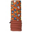 4 Fun Polartec többfunkciós gyermek csősál (Owl Orange)