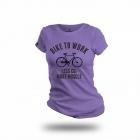 Cycling People Bike To Work női póló