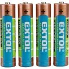 Extol Craft 42010 1,5 V alkáli elem AAA
