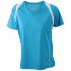 James & Nicholson Running 2 V nyakas női technikai póló