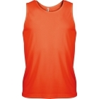 ProAct férfi ujjatlan technikai póló (fluorescent orange)