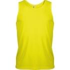 ProAct férfi ujjatlan technikai póló (fluorescent yellow)