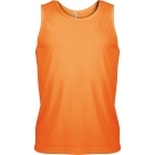 ProAct férfi ujjatlan technikai póló (orange)