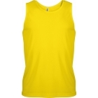 ProAct férfi ujjatlan technikai póló (true yellow)