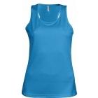 ProAct női ujjatlan technikai póló (aqua blue)