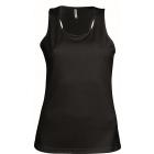 ProAct női ujjatlan technikai póló (black)