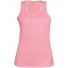 ProAct női ujjatlan technikai póló (dark pink)