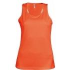 ProAct női ujjatlan technikai póló (fluorescent orange)