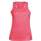 ProAct női ujjatlan technikai póló (fluorescent pink)
