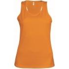ProAct női ujjatlan technikai póló (orange)