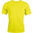 ProAct férfi technikai póló (fluorescent yellow)