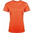 ProAct női technikai póló (fluorescent orange)