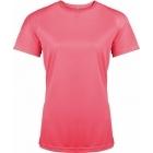 ProAct női technikai póló (fluorescent pink)
